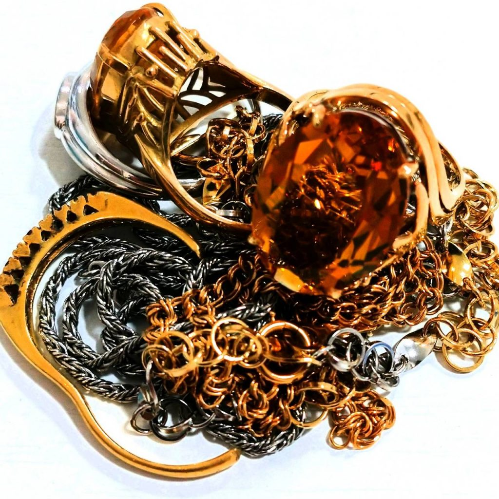 金 プラチナ アクセサリー リング ネックレス