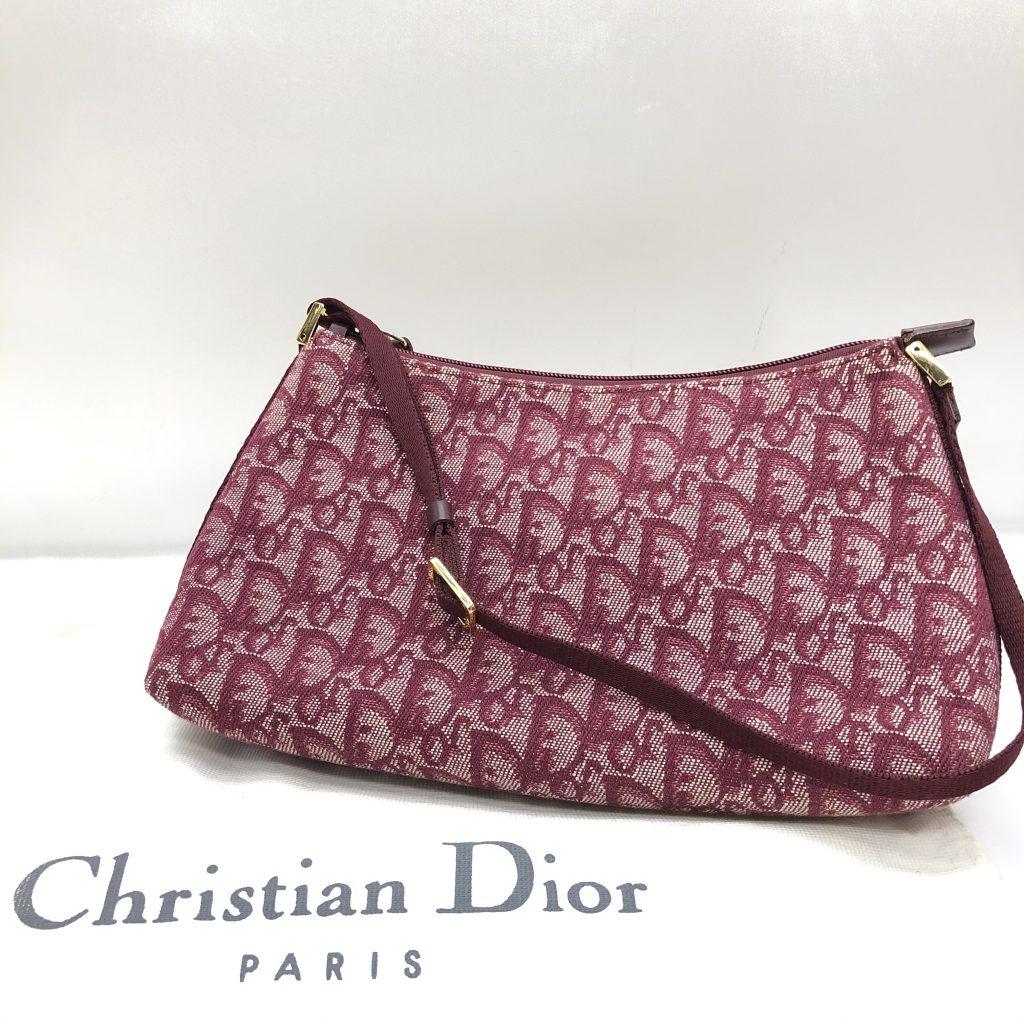 Christian Dior バッグ ショルダー トロッター amy