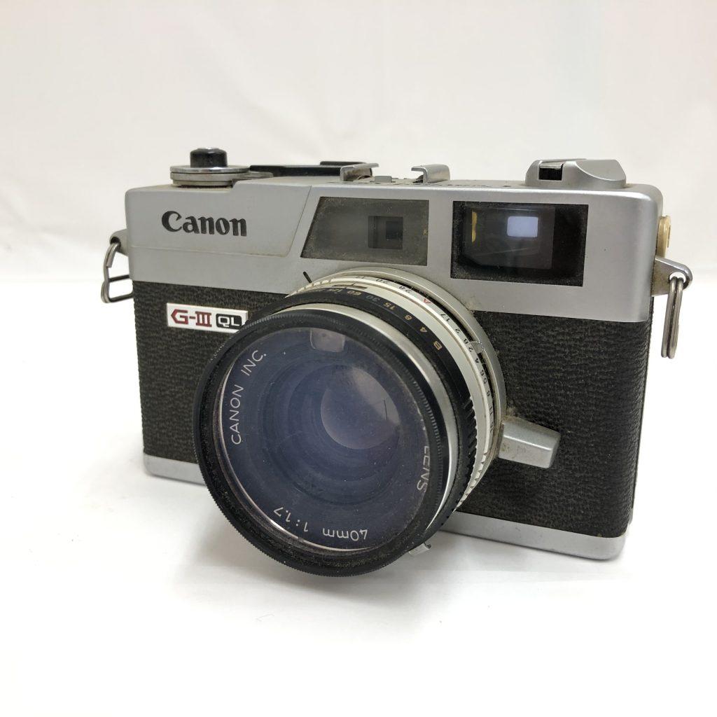 Canon(キャノン) Cononet QL17 G-Ⅲ レトロ フィルムカメラ