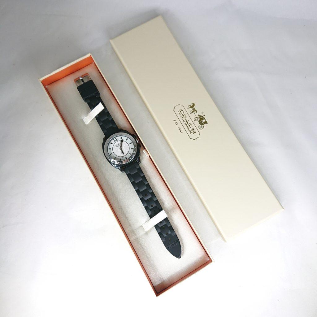 COACH ラバー腕時計