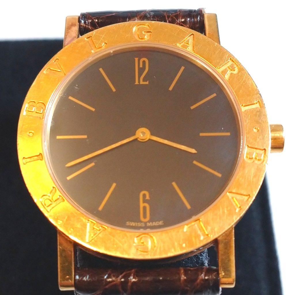 ブルガリブルガリ クォーツ K18YG 腕時計