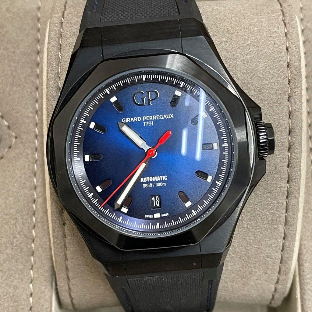 ジラールペルゴ ロレアート 自動巻き メンズ 腕時計