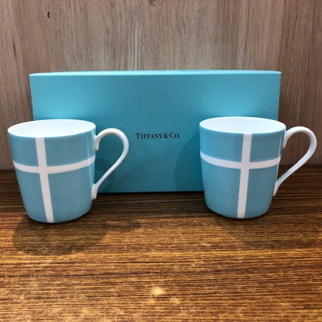 TIFFANY&CO.ペアマグカップ