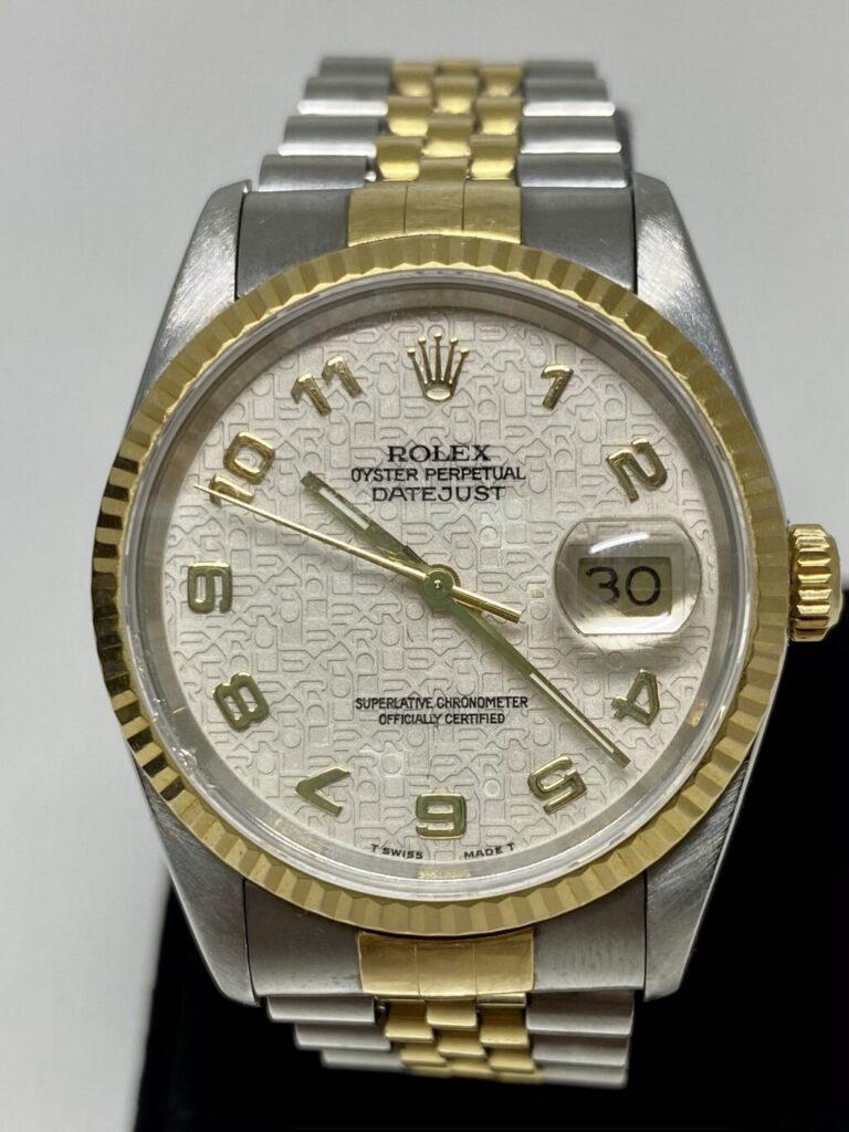 ロレックス デイトジャスト16233 腕時計 メンズ