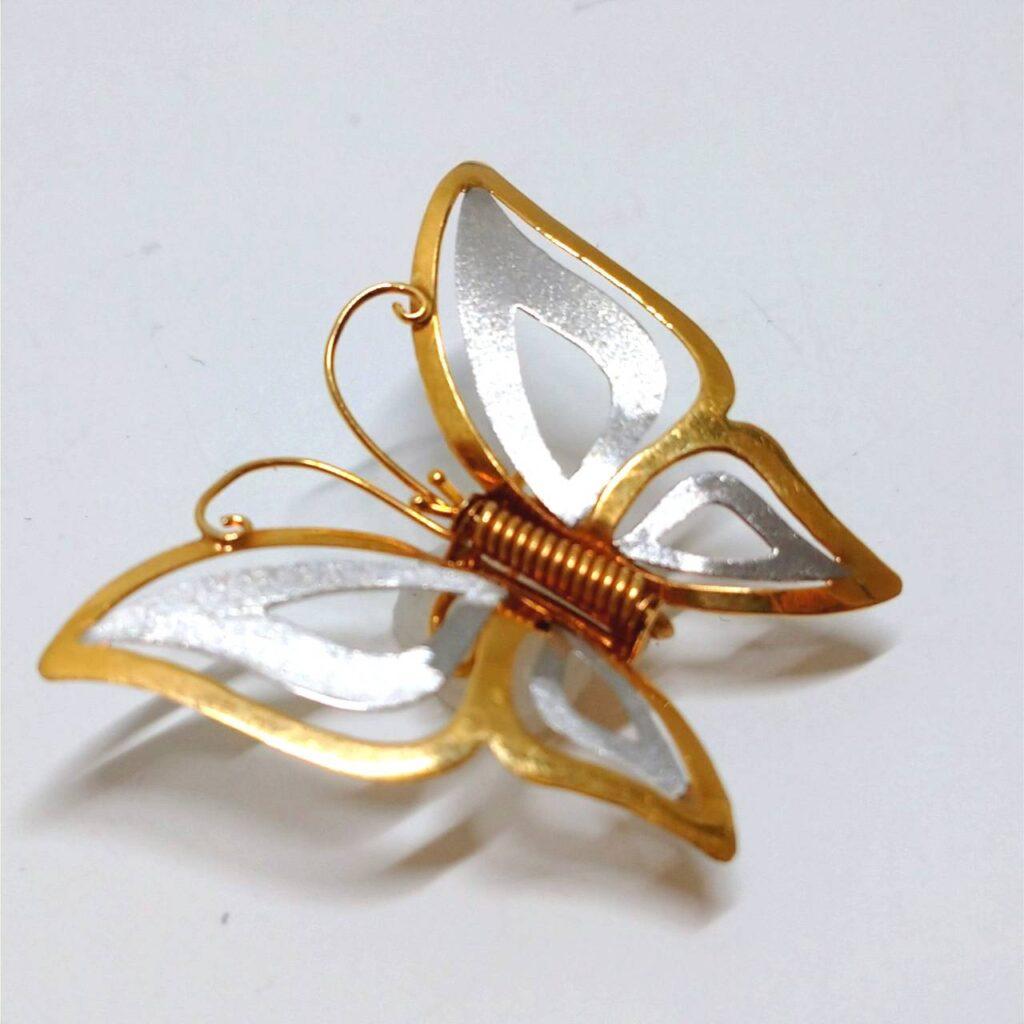 K18蝶々ブローチ