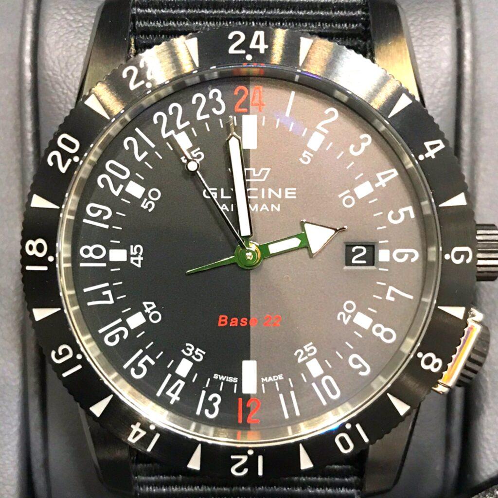 GLYCINE 腕時計
