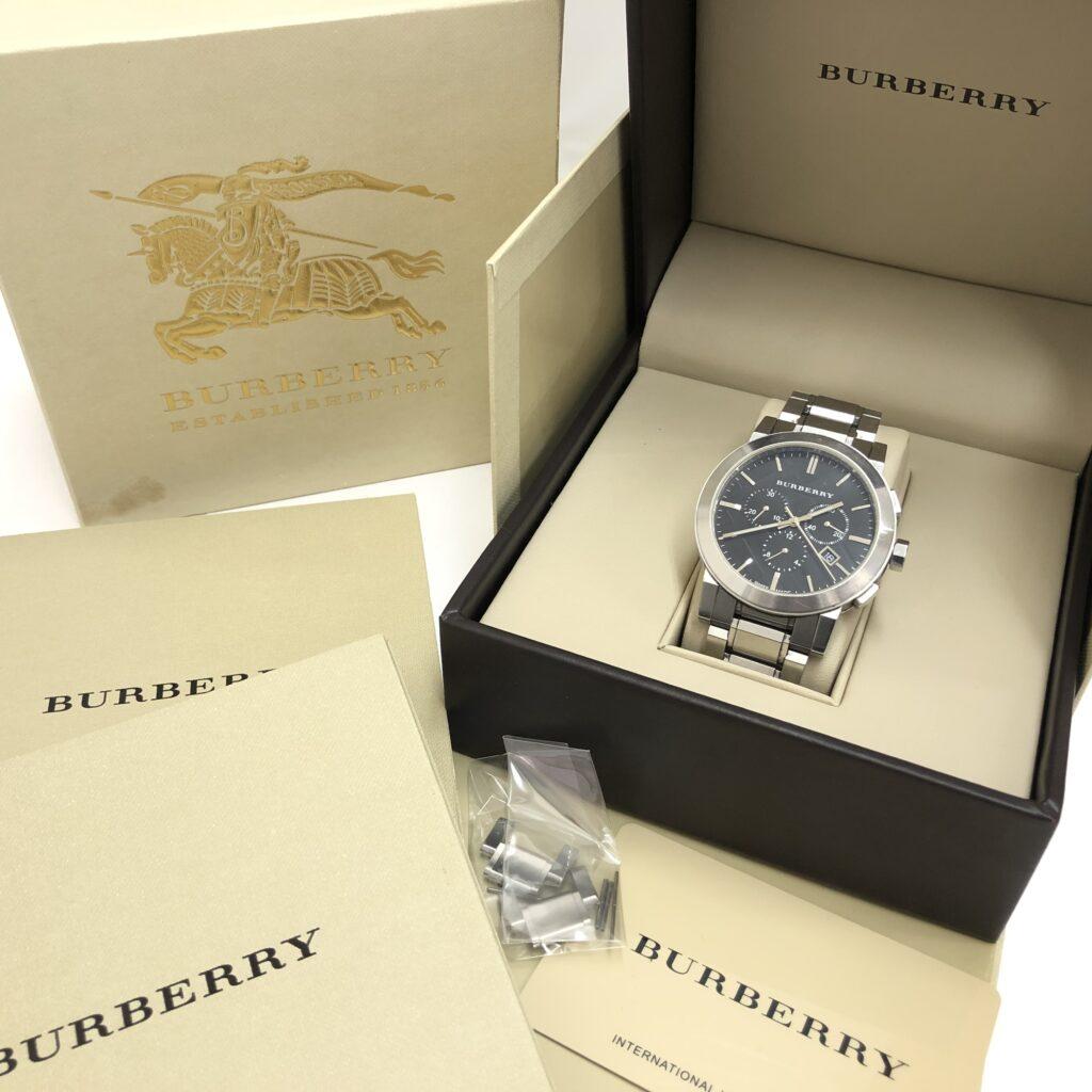 BURBERRY(バーバリー) クロノグラフ メンズ腕時計 BU9351