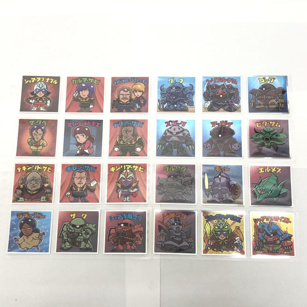 機動戦士ガンダムマンチョコ 40th ジオン軍 全24種