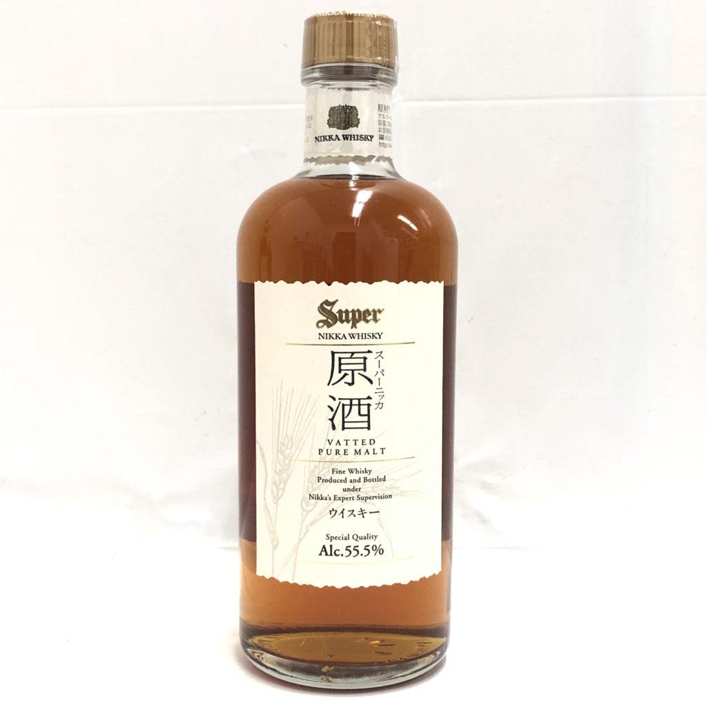 Super NIKKA WHISKEY 原酒 ピュアモルト