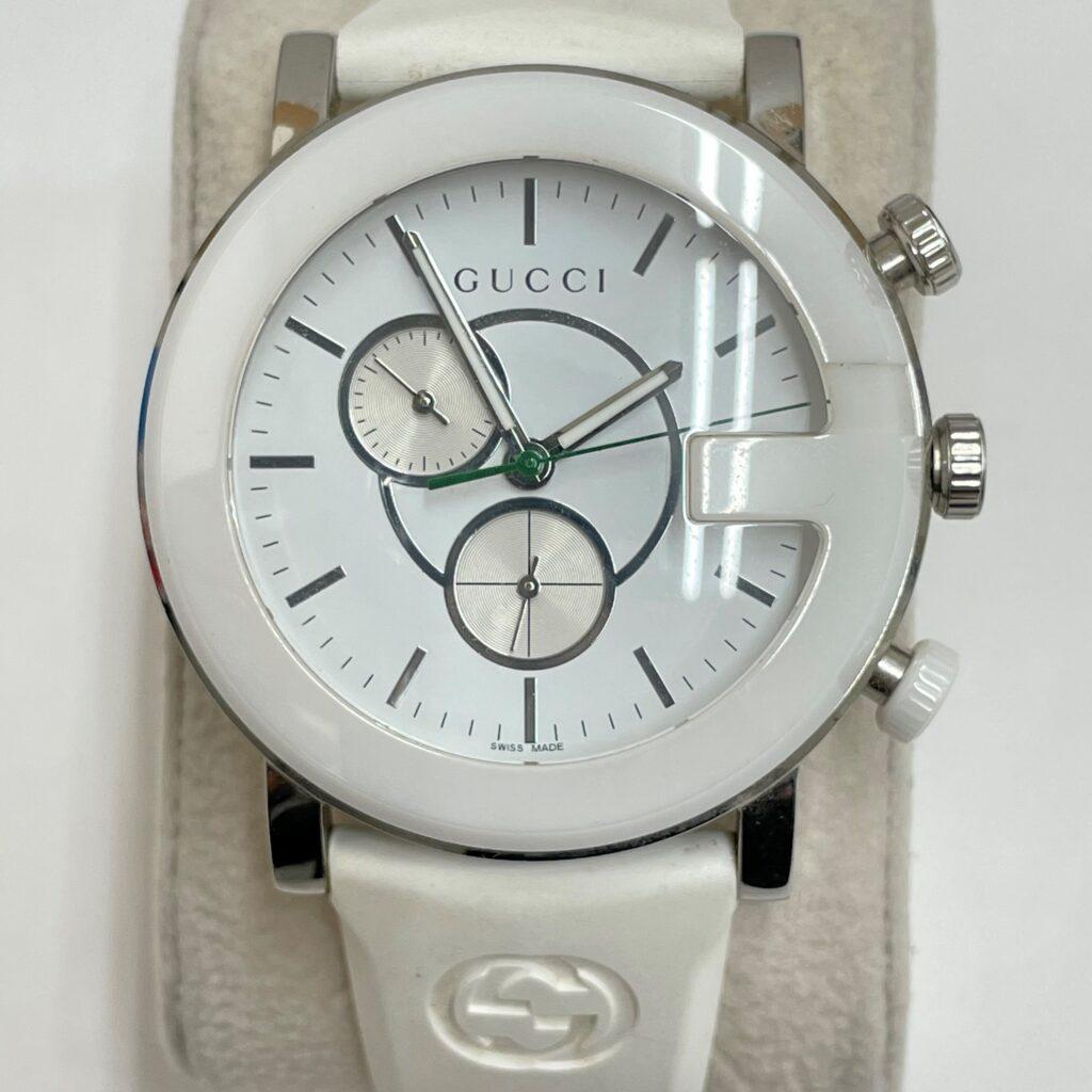 GUCCI 腕時計 101M ラバーベルト