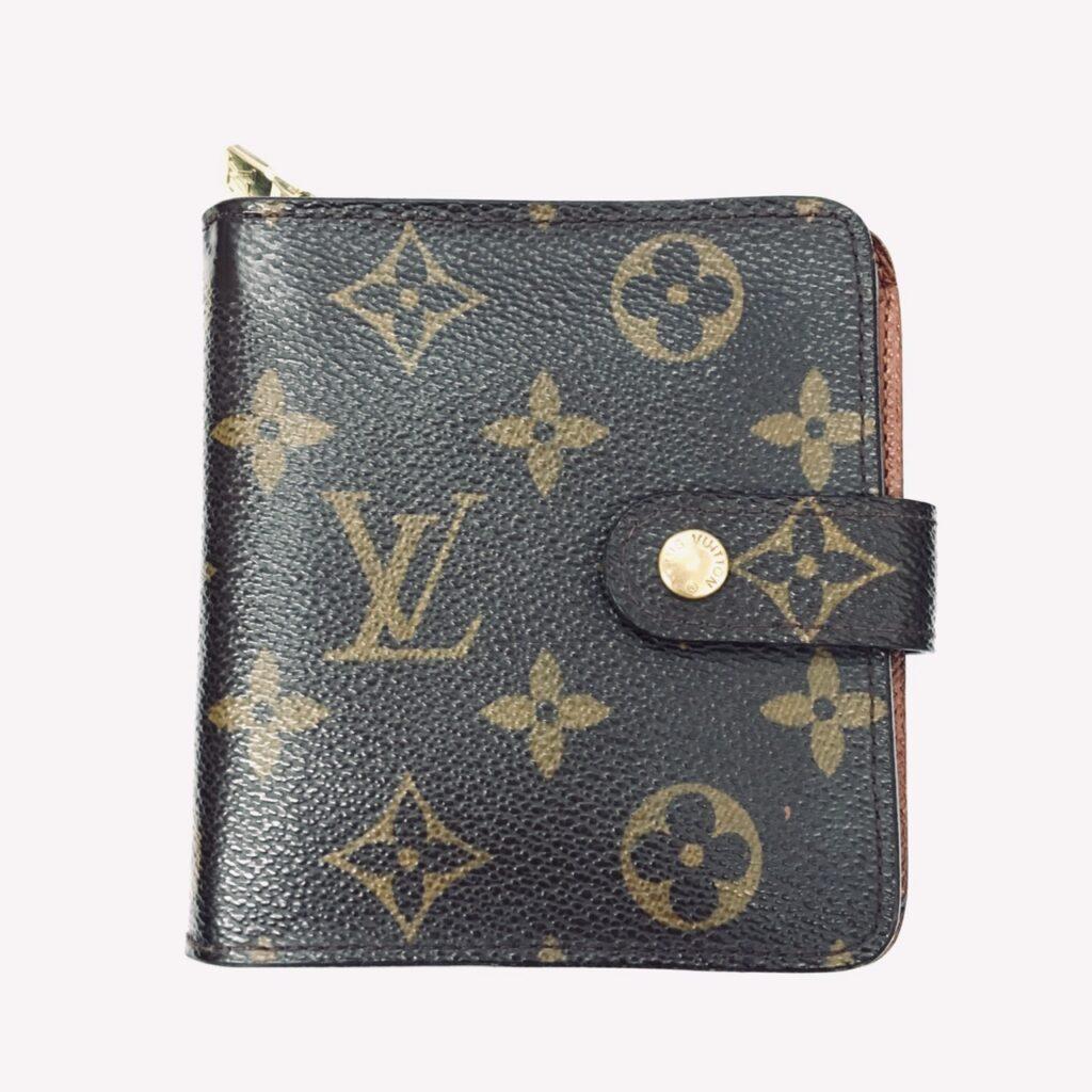 LOUIS VUITTON ルイ・ヴィトン コンパクトジップ モノグラム 財布