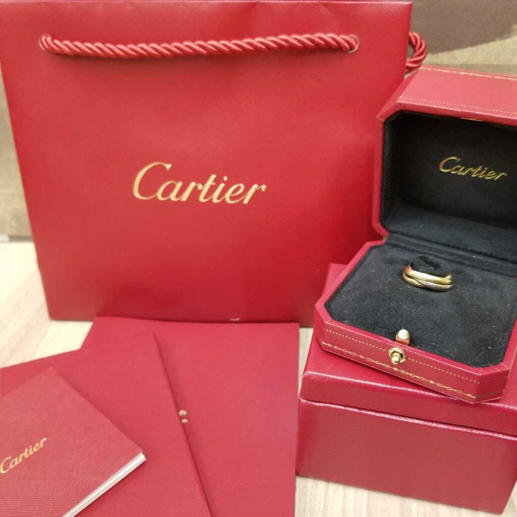 Cartier トリニティー リング