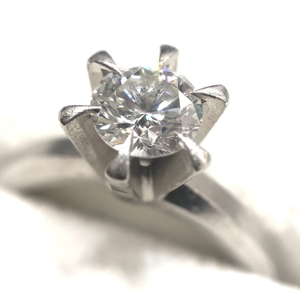 Pt900 ダイヤモンド1.05ct リング