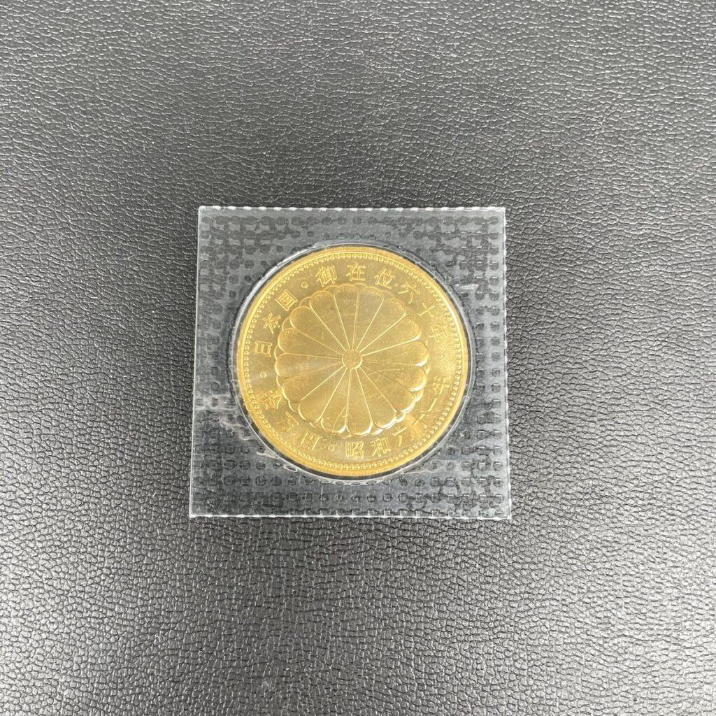 天皇陛下御在位60年記念10万円金貨幣