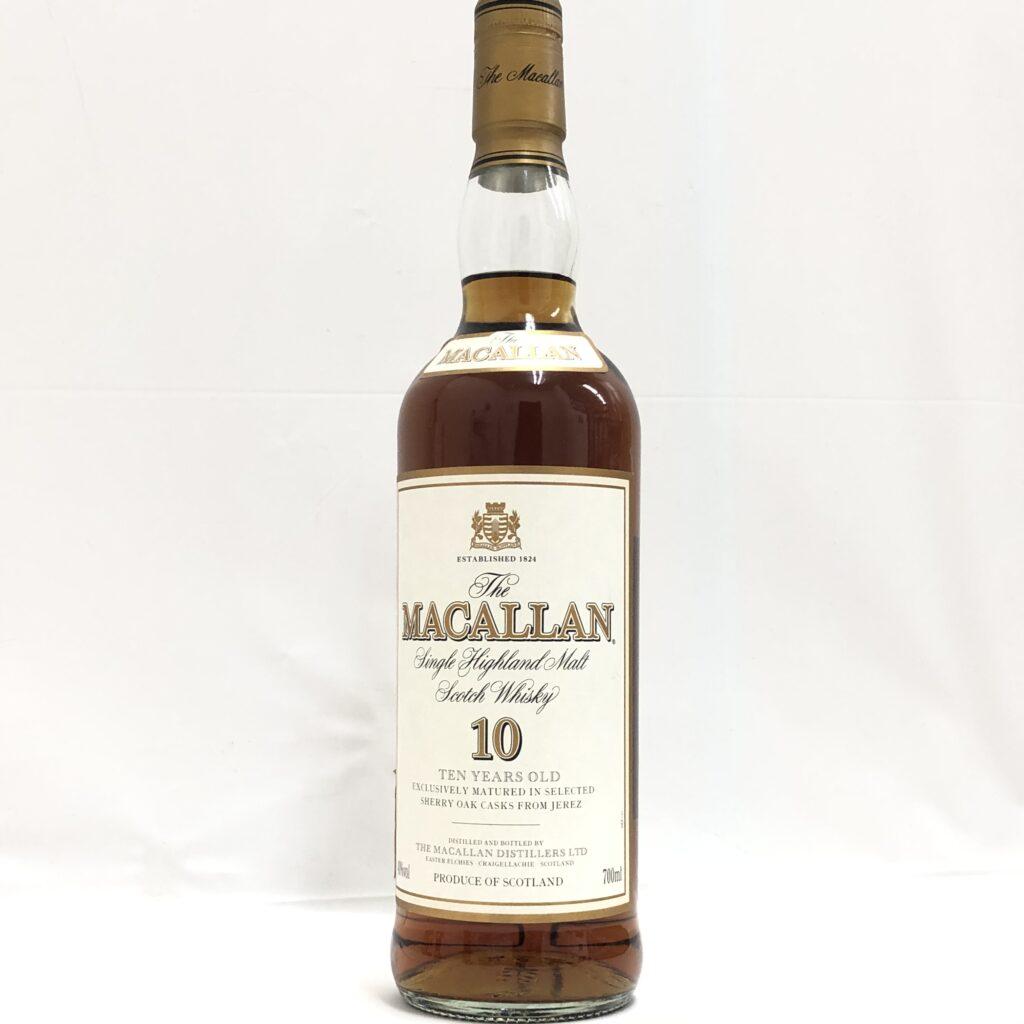The MACALLAN(マッカラン)10年 旧ボトル