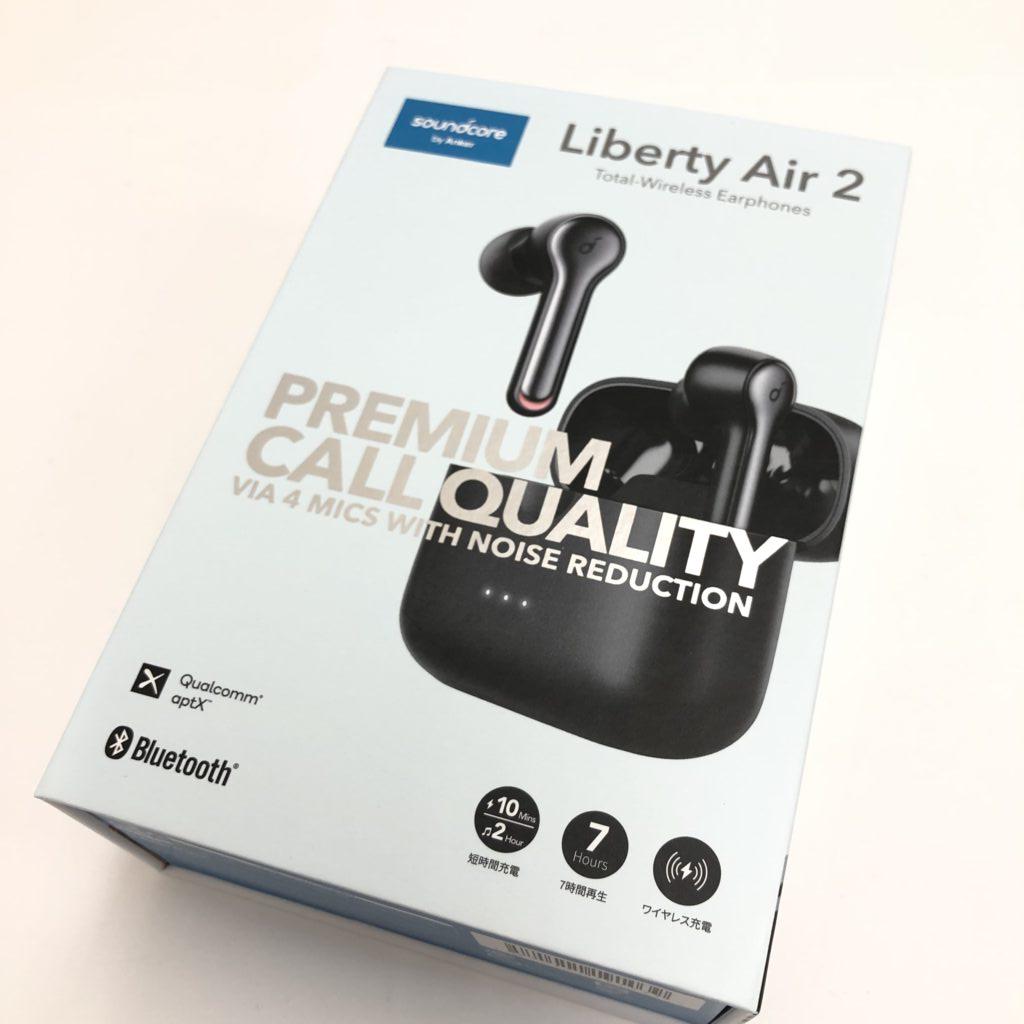 Anker soundcore ワイヤレスイヤホン Liberty Air2