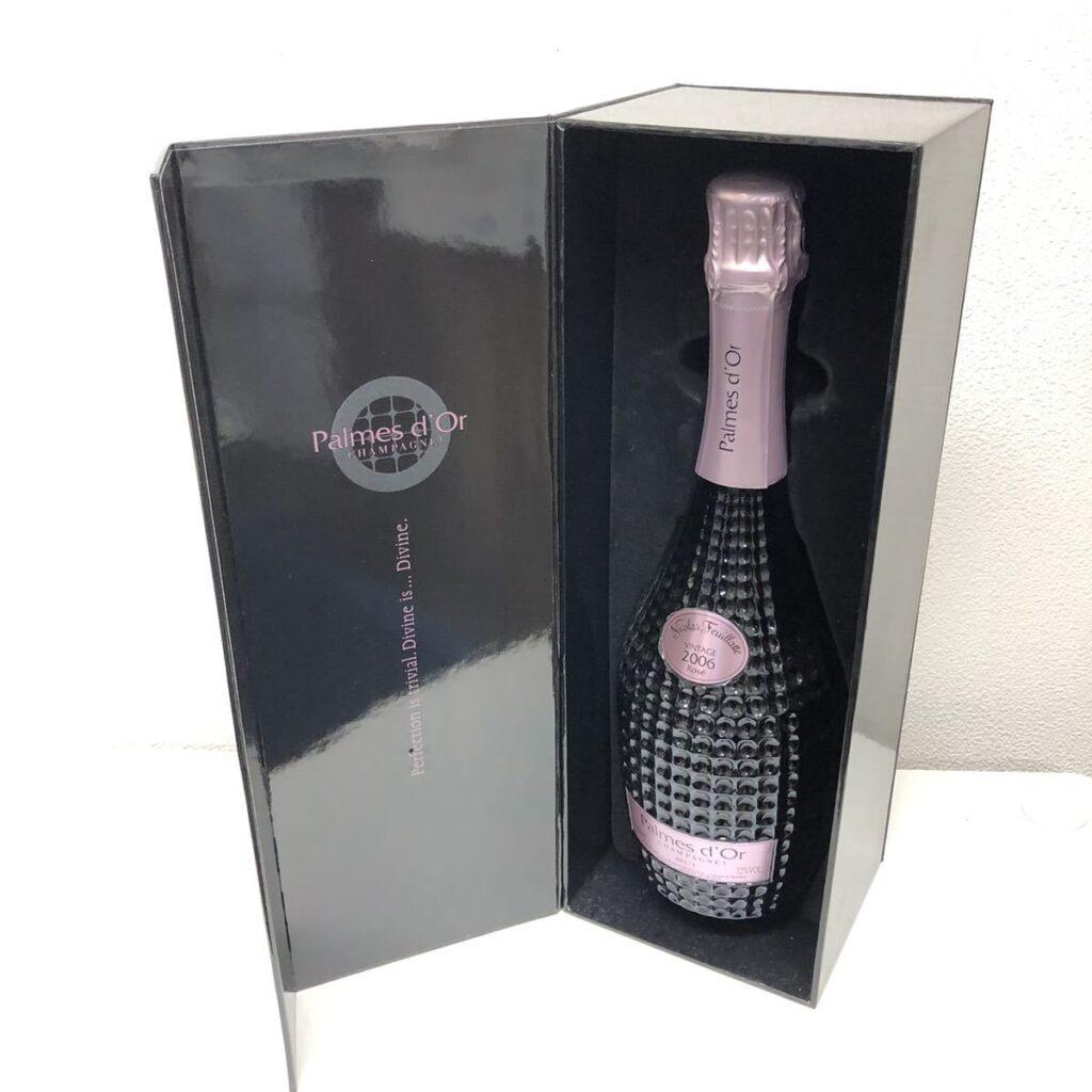 パルムドール ロゼ ブリュット ニコラ フィアット 2006 シャンパン