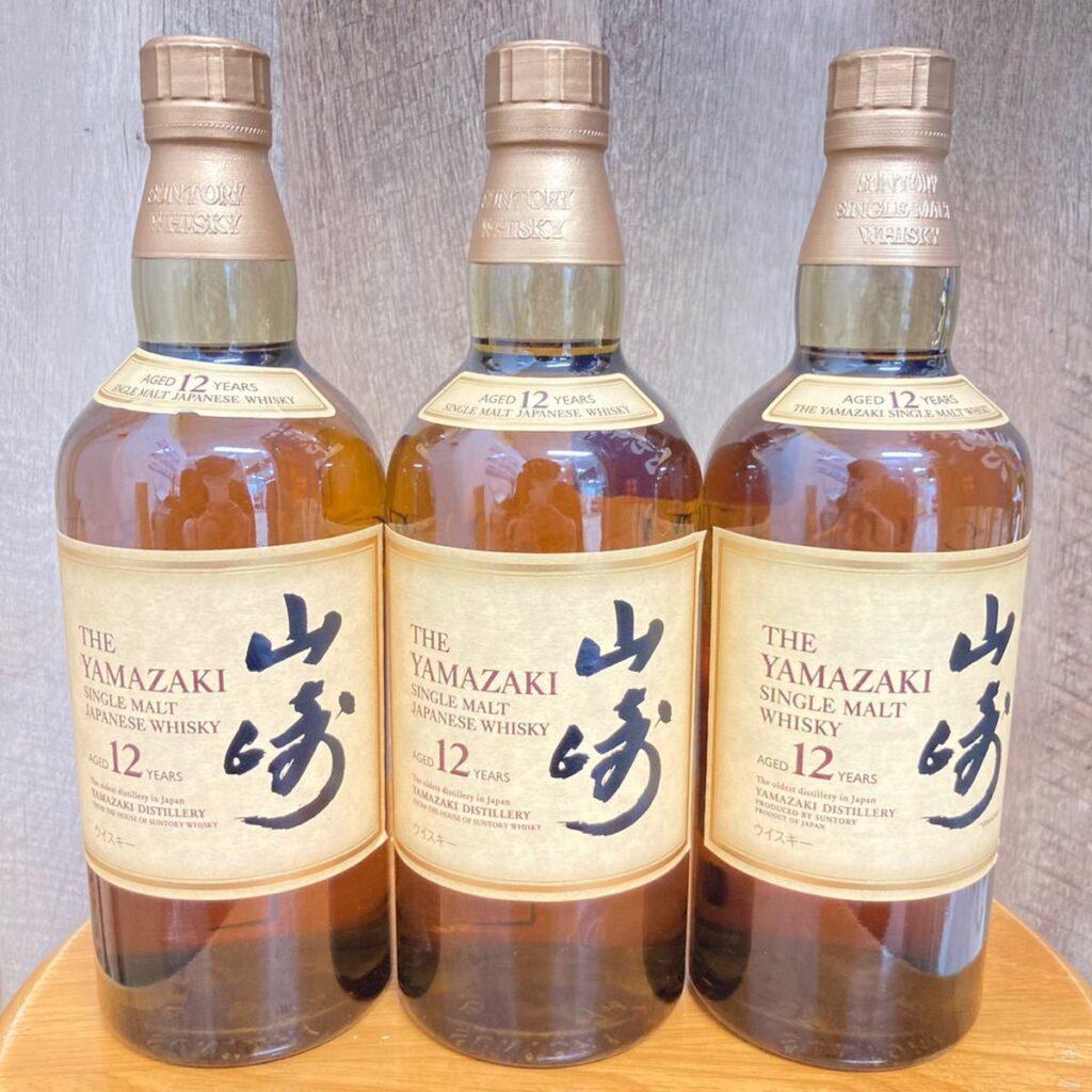 山崎12年 シングルモルト ウイスキー