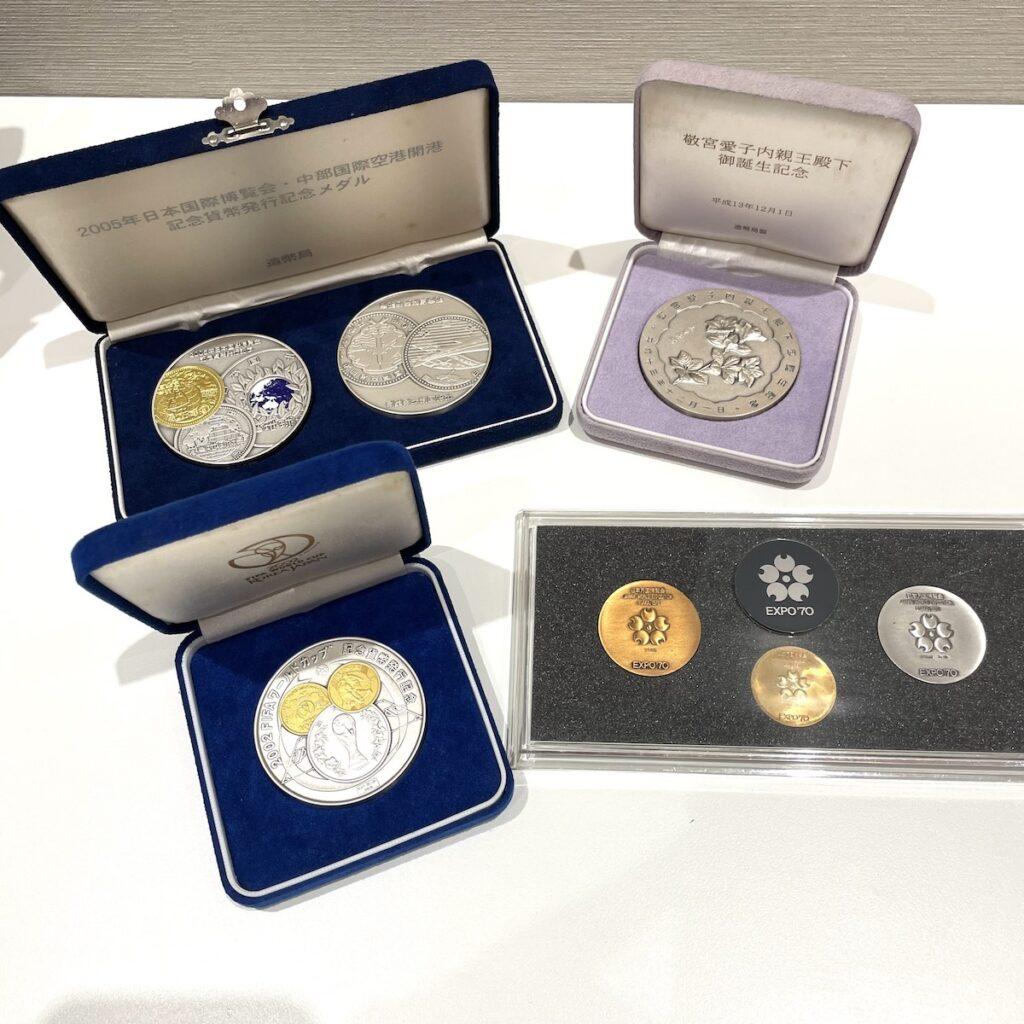 日本万国博覧会記念メダル / EXPO70 K18金メダル など