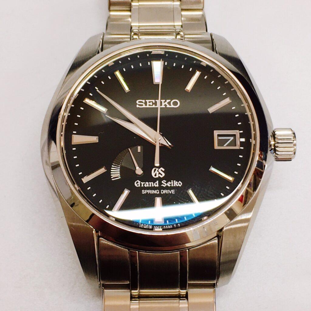 グランドセイコー スプリングドライブ腕時計