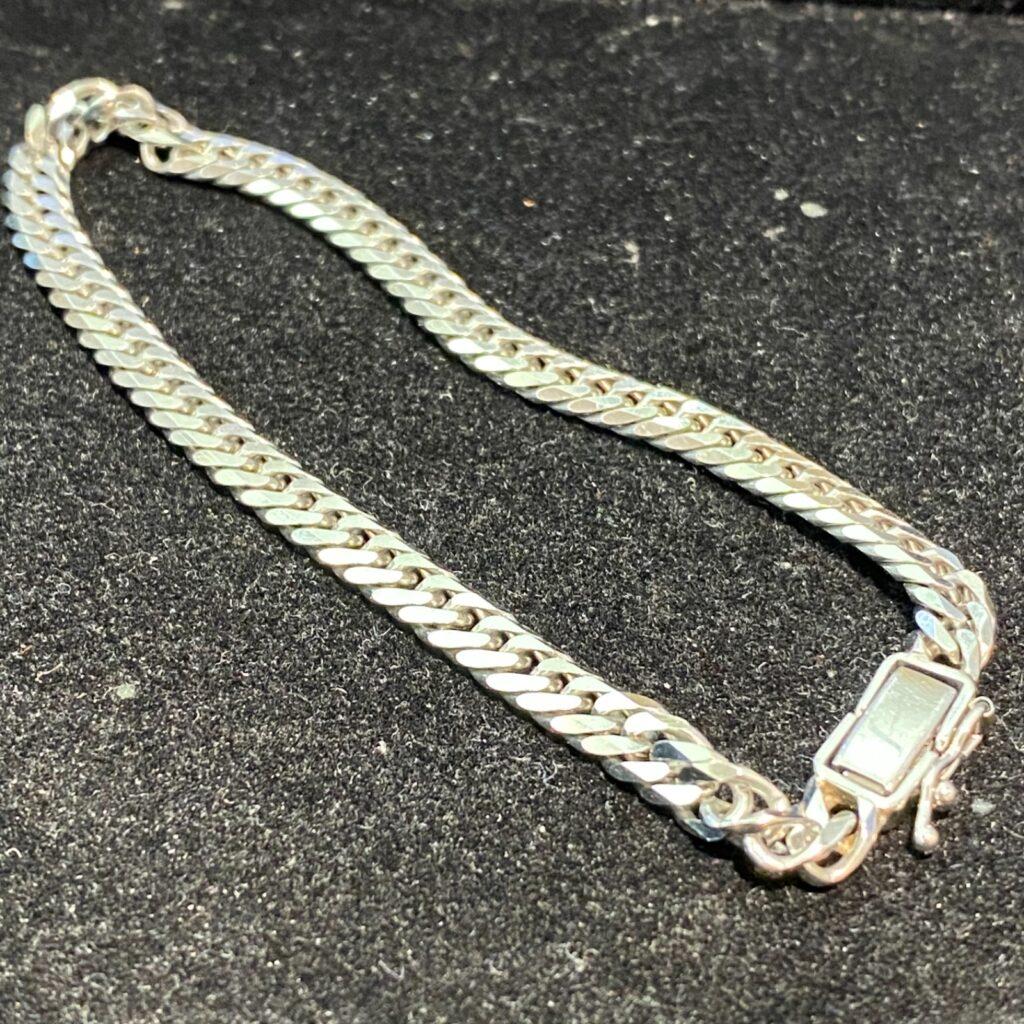 Pt850 ブレスレット 腕輪 プラチナ プラチナム アクセサリー 腕飾り チェーンタイプ