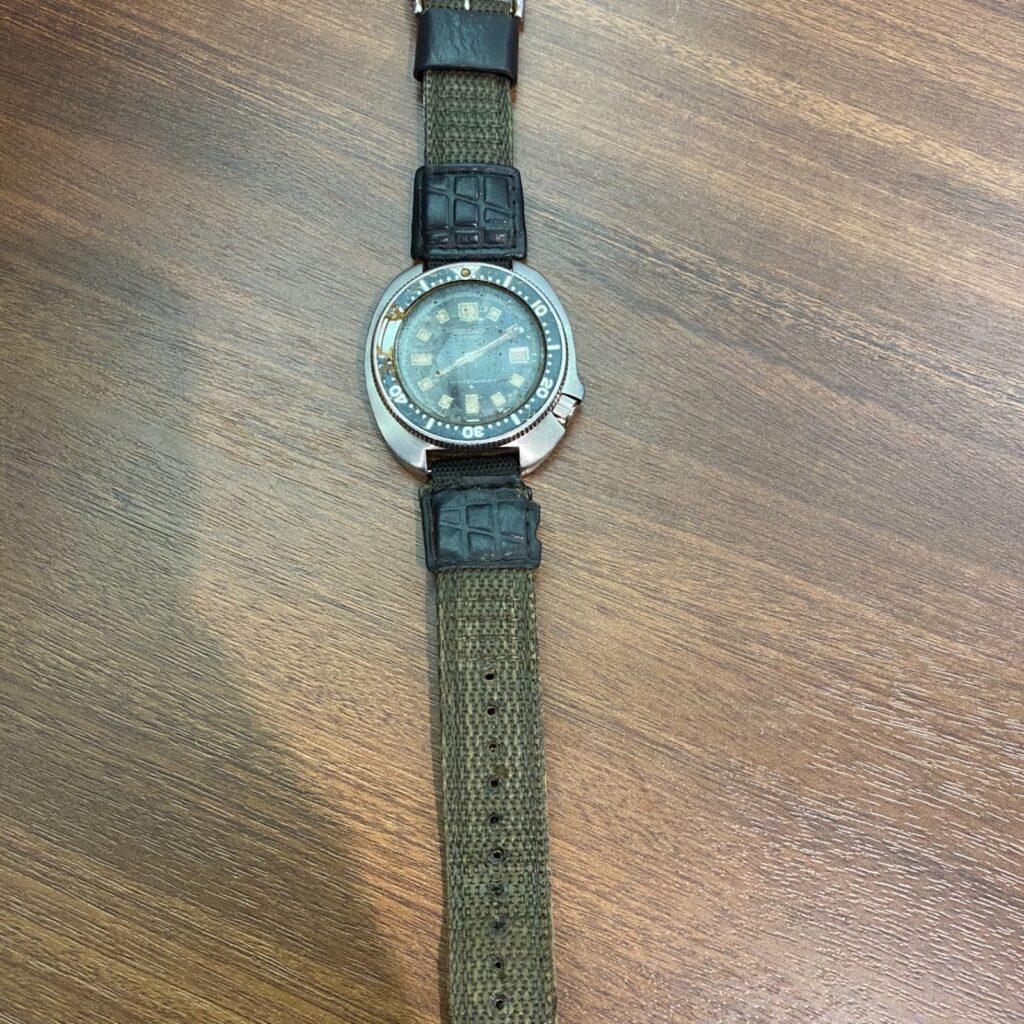 SEIKO セイコー アンティーク 植村 ダイバー ウォッチ 後期 腕時計