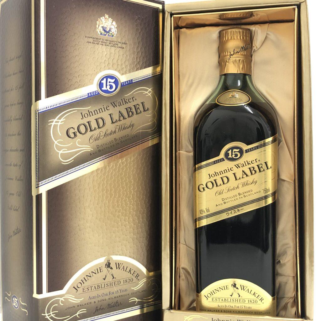 Johnnie Walker GOLD LABEL(ジョニーウォーカー ゴールドラベル) 15年