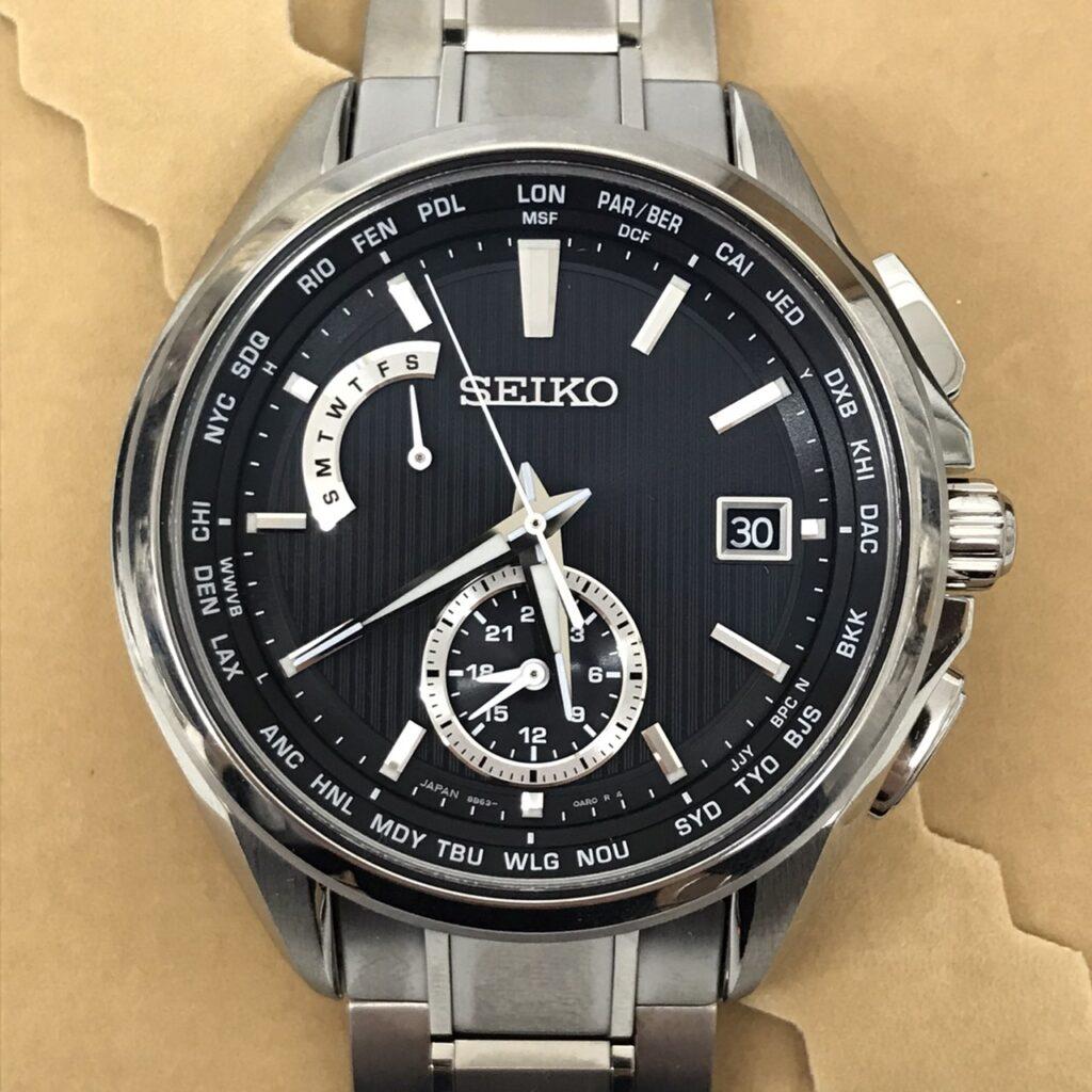 SEIKO ブライツ ソーラー電波時計 SAGA287