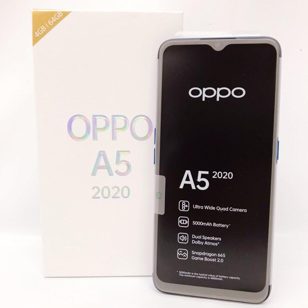 OPPO A5 2020  RAM 4GB ストレージ 64GB