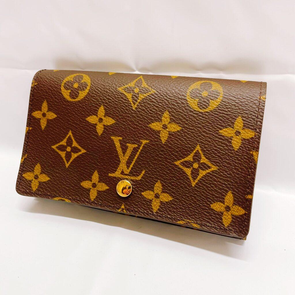 ルイ・ヴィトン ポルトフォイユ トレゾール モノグラム 二つ折り財布(未使用)