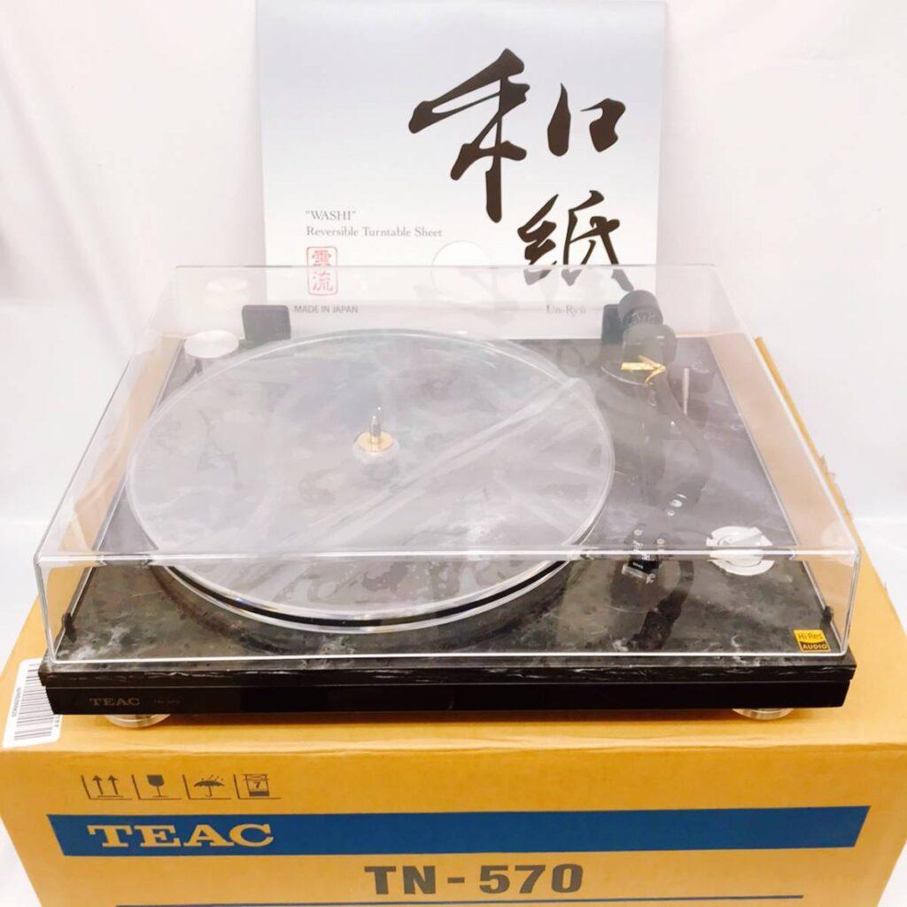 TEAC TN-570 フォノアンプ内蔵 アナログターンテーブル