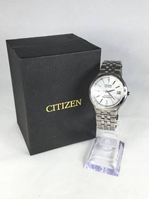CITIZEN エコドライブ エクシード 電波ソーラー腕時計