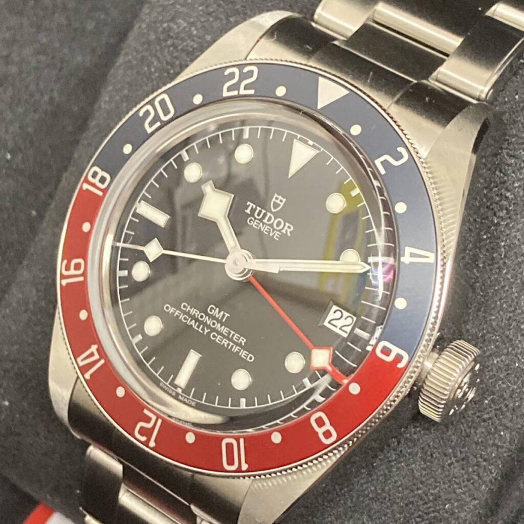 TUDOR チュードル ブラックベイ GMT チューダー 時計