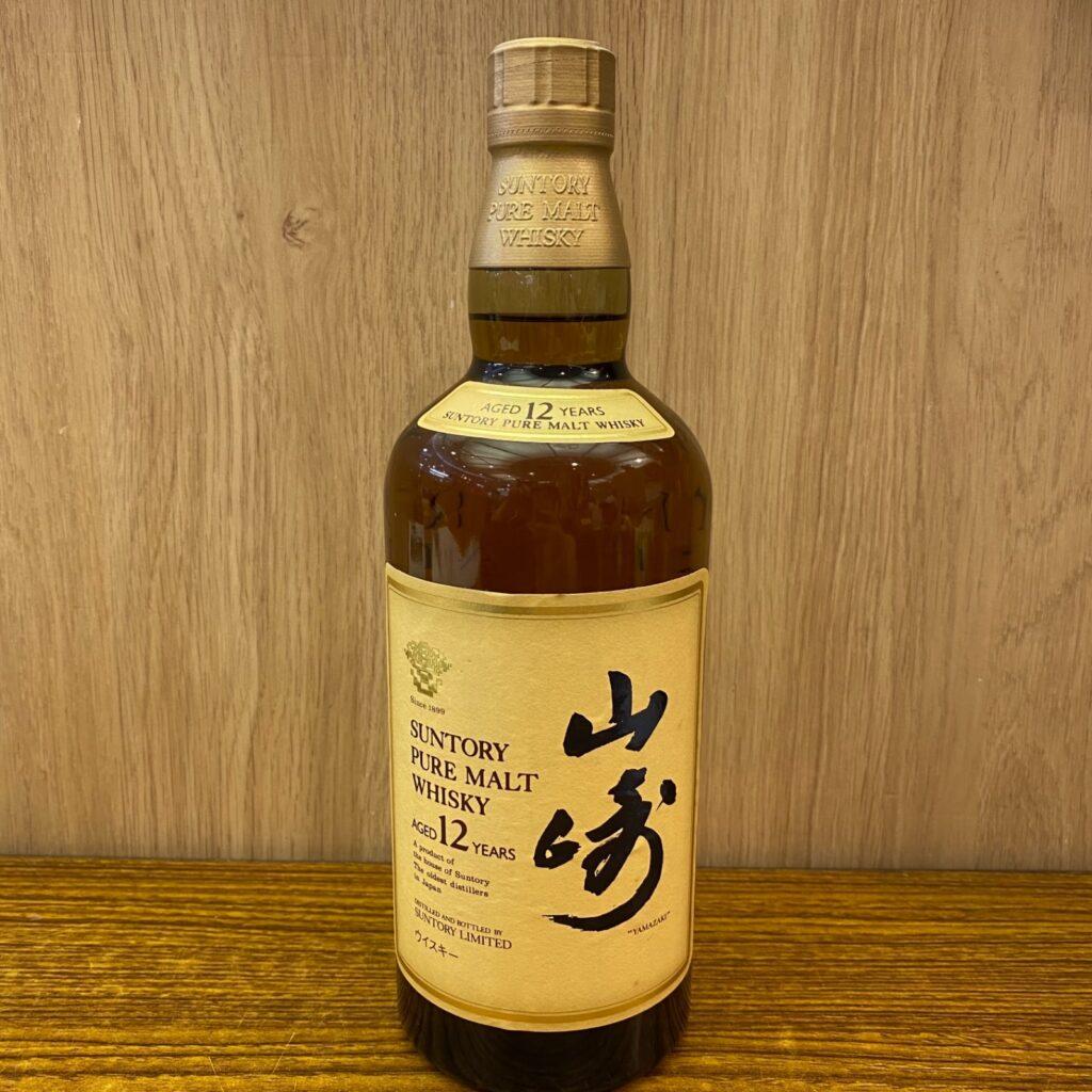 SUNTORY PURE MALT WHISKEY 山崎 12年 サントリー ピュアモルト ウイスキー お酒