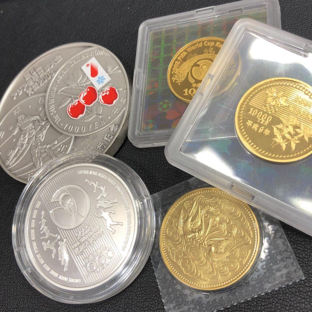 10万円金貨 1万円金貨 純銀メダル