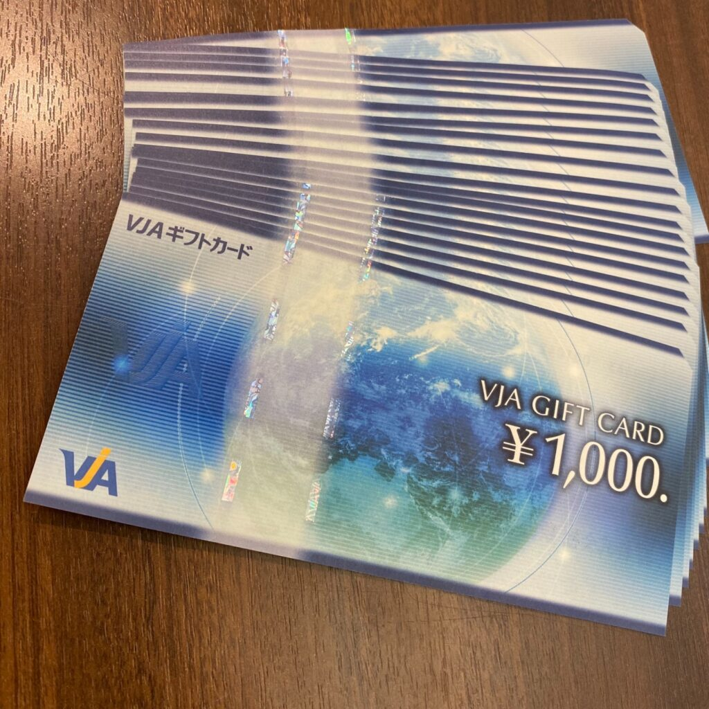 VJA GIFT CARD ギフトカード ギフト券 商品券