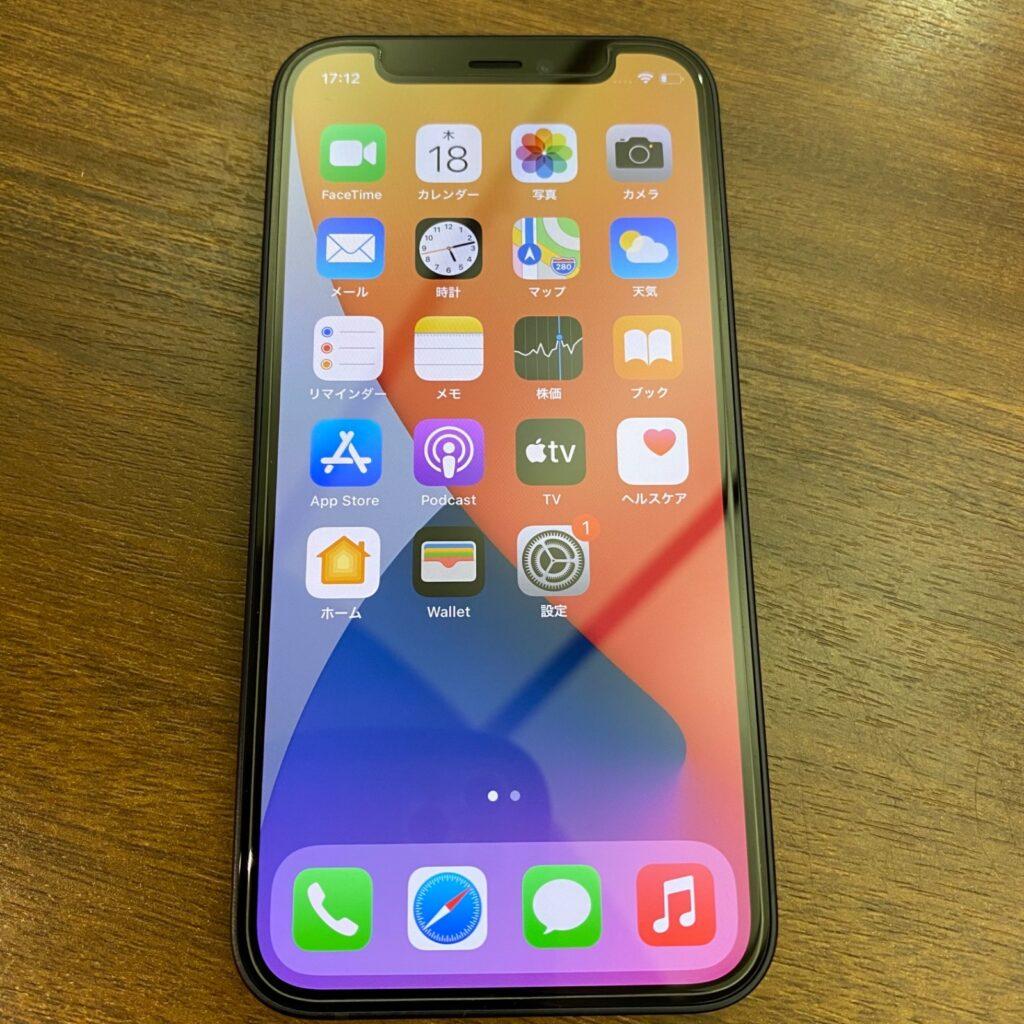 iPhone 12 mini アイフォン 最新機種 5G スマートフォン ブラック 黒色 SIMフリー 5.4インチ