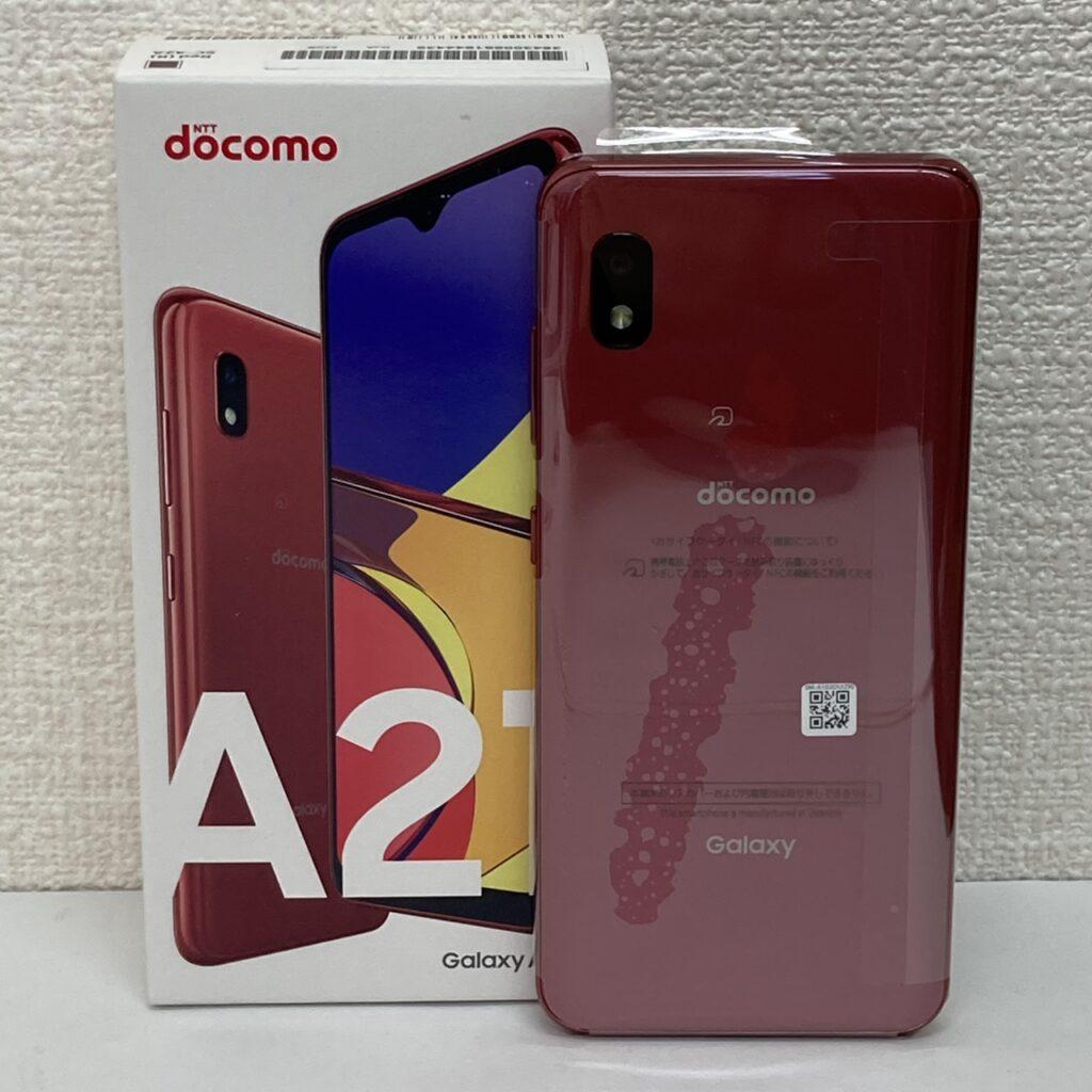 docomo Galaxy A21 SC-42A