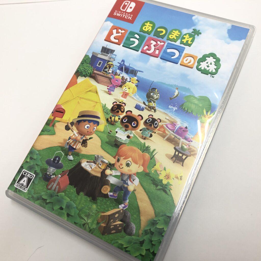Nintendo Switch ゲームソフト あつまれどうぶつの森