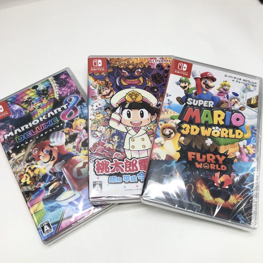 任天堂 switch ゲームソフト