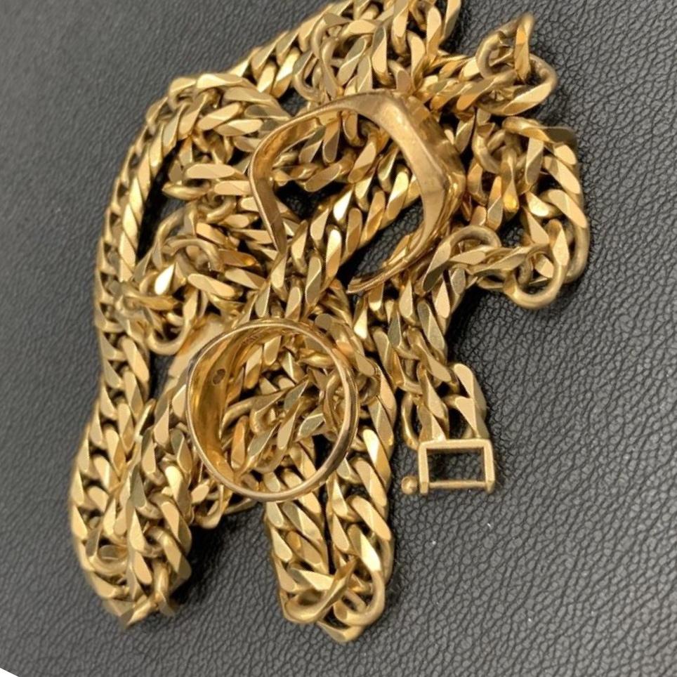 18金 ネックレス&指輪