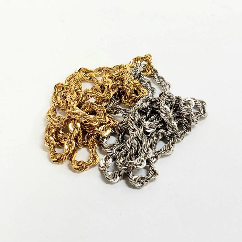 金 プラチナ ネックレス