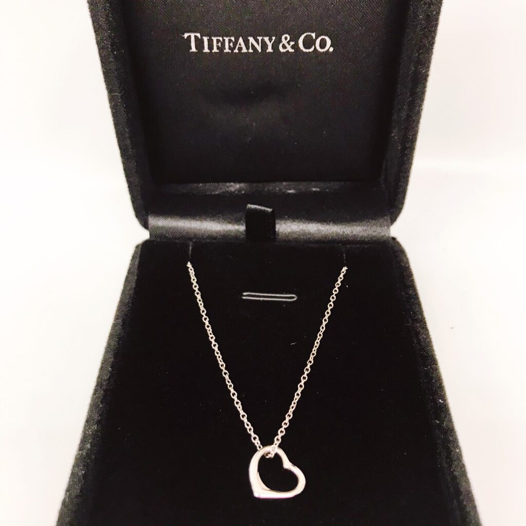 TIFFANY&CO. オープンハート ネックレス