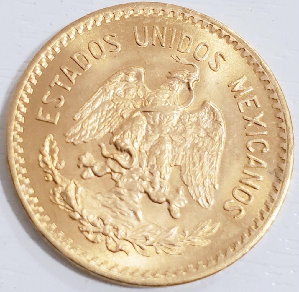 K21.6 メキシコ 10ペソ 金貨