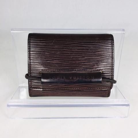 LOUIS VUITTON エピ ポルトフォイユ・エラスティック 三つ折り財布