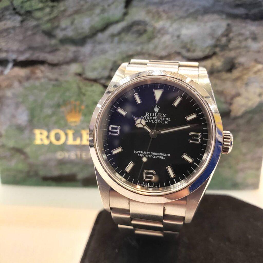 ロレックス エクスプローラー 114270