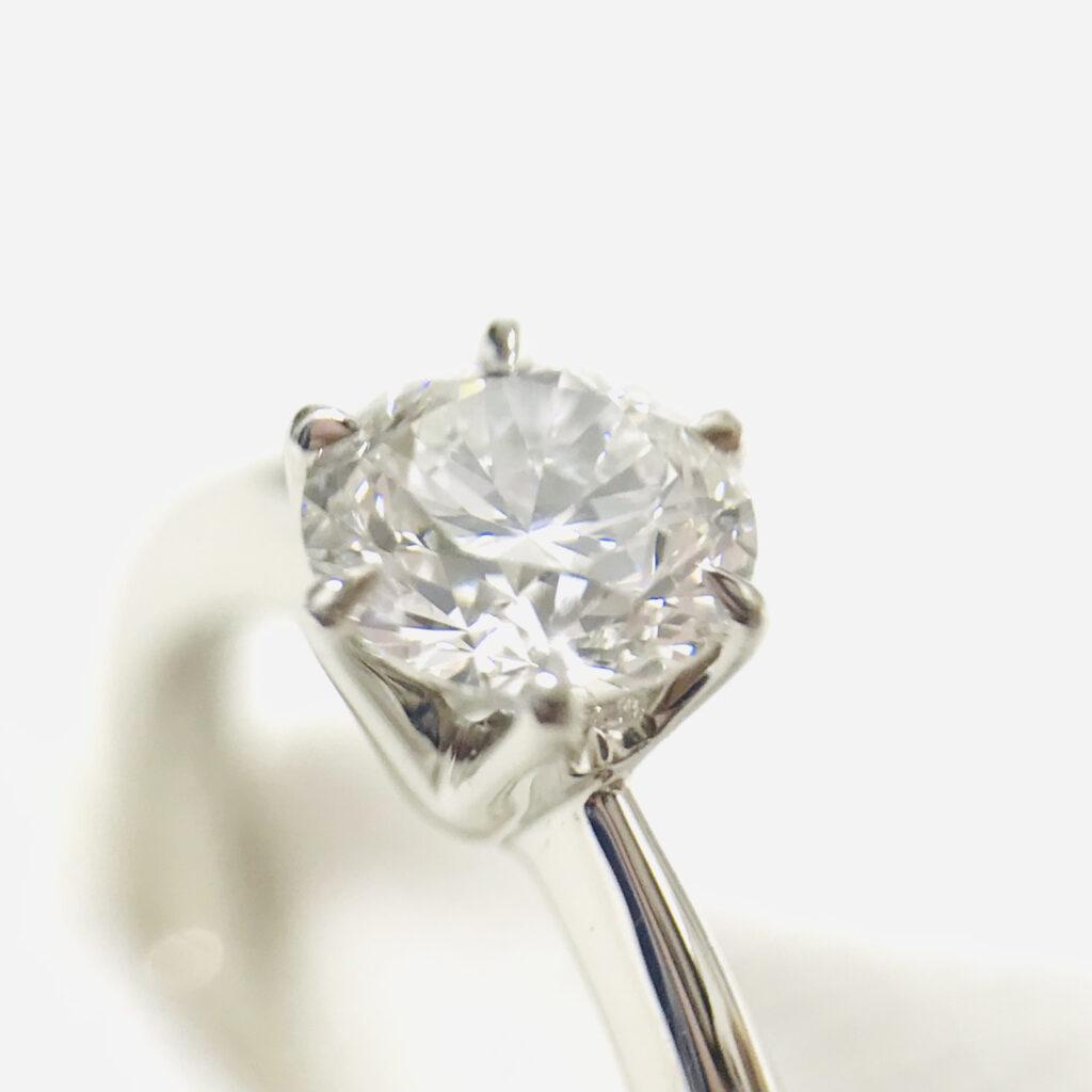 Pt950 ダイヤモンド リング 0.5ct ジュエリー