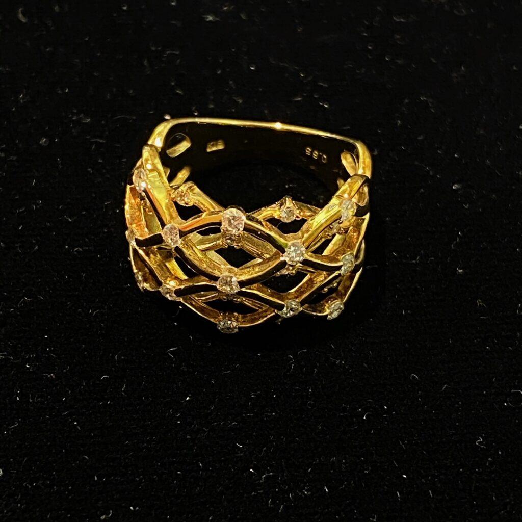 K18 リング 18金 ゴールド 指輪 装飾品 金