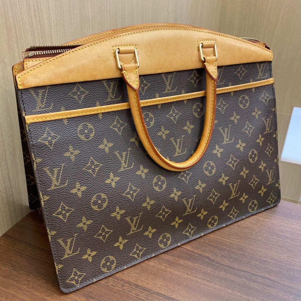 Louis Vuitton LV ルイヴィトン モノグラム リヴィエラ ハンドバッグ レディース