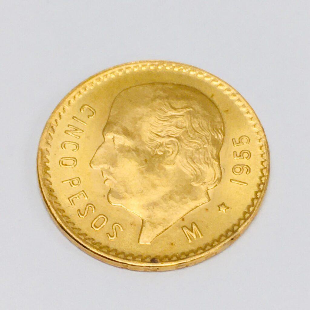 K21.6 ペソ金貨